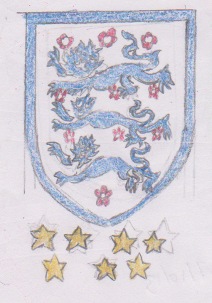 England national football team by WhippetWild
