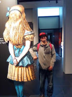 Myself next to Alice
