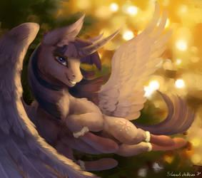 Twilight's New Year by Floverale-Hellewen