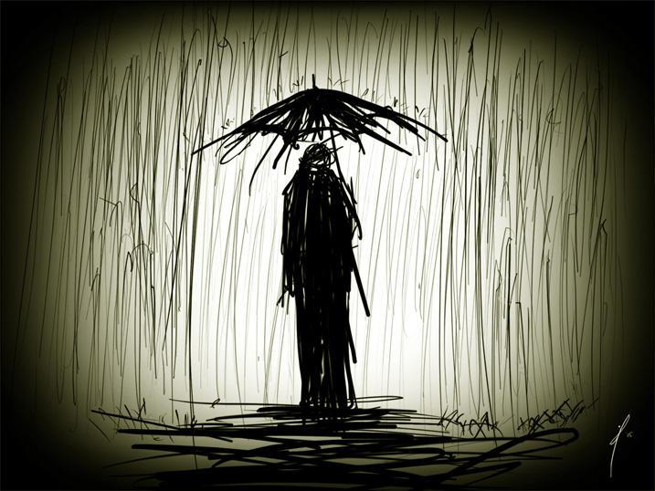 a walk in the rain by jeffmendoza on DeviantArt