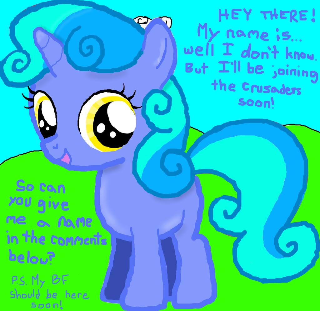 SweetieBelle\'s Sister by EmoshyVinyl