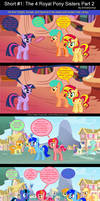 Short #1: The 4 Royal Pony Sisters Part 2
