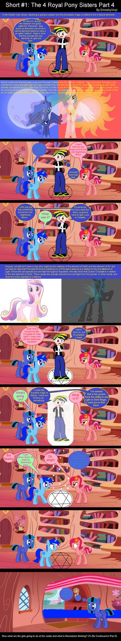 Short #1: The 4 Royal Pony Sisters Part 4 by EmoshyVinyl