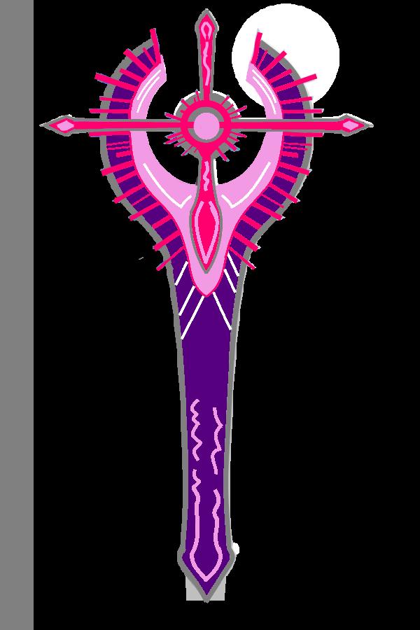 Alexis' Di-Sword by EmoshyVinyl