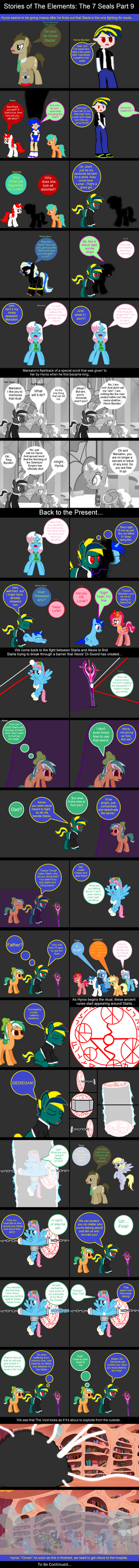 Stories of The Elements: The 7 Seals Part 9 by EmoshyVinyl
