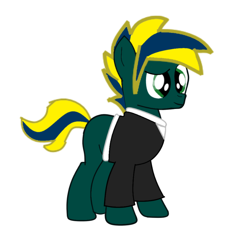 Hyros Byodarr a.k.a Sparking (Selenium Pony-King) by EmoshyVinyl