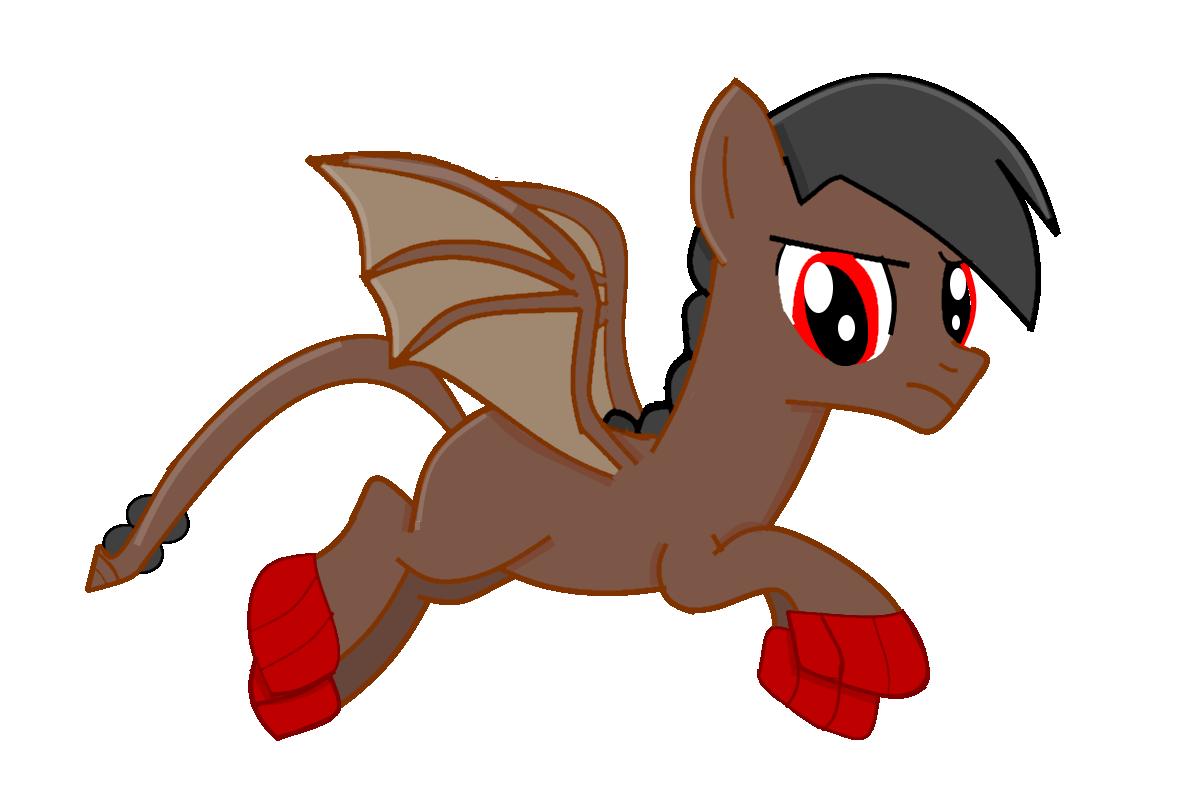 Salazar (Eldrince Empire: Dragon-Pony Hybrid) by EmoshyVinyl