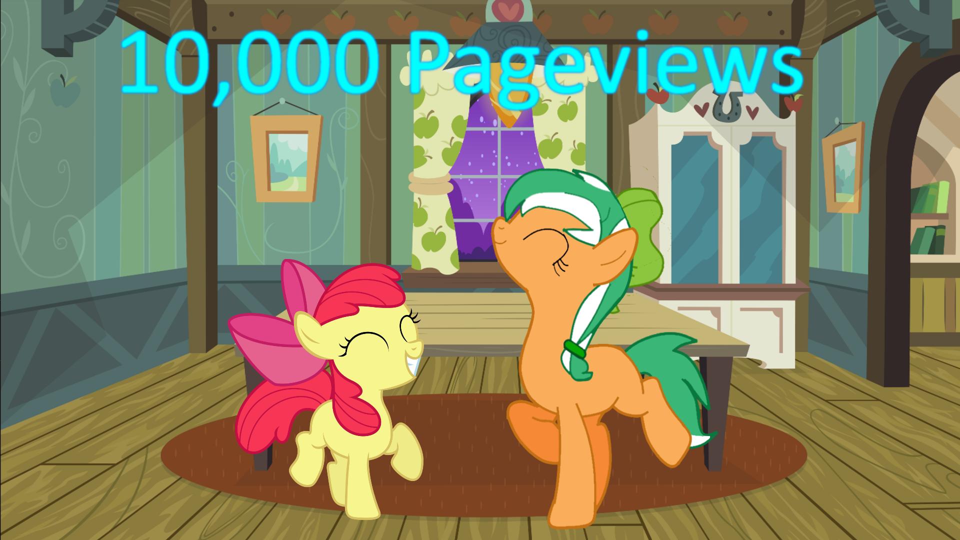 10,000 PageViews by EmoshyVinyl
