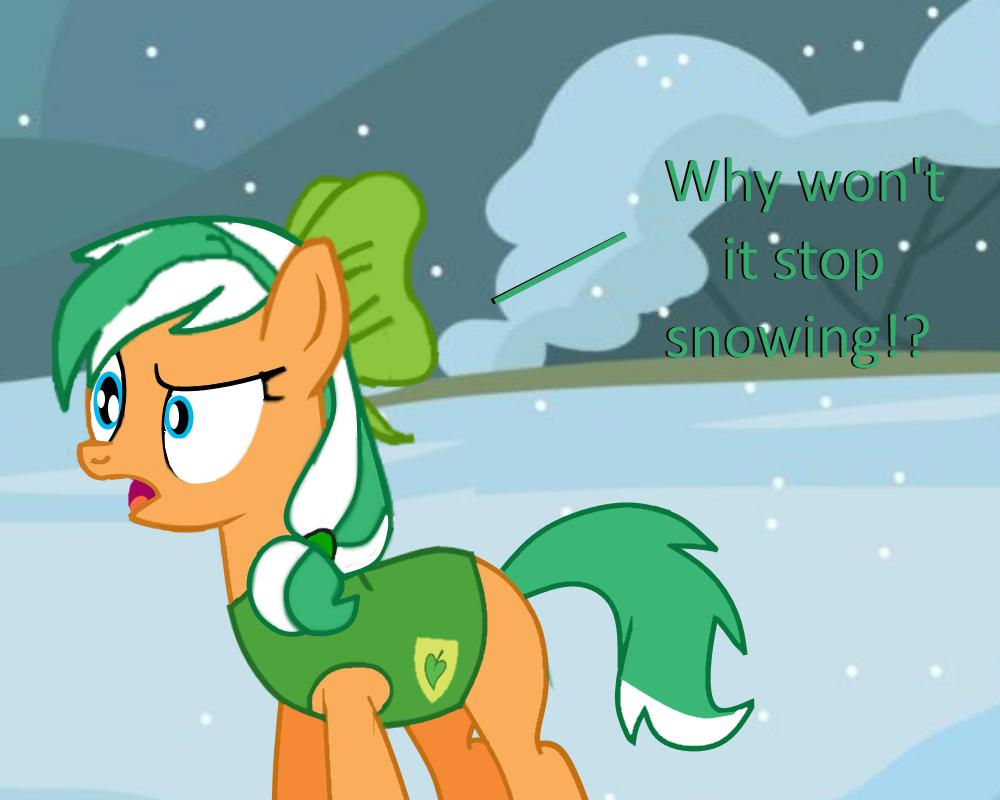 Stop the Snow by EmoshyVinyl