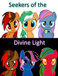 Seekers of the Divine Light-Comic Cover #1