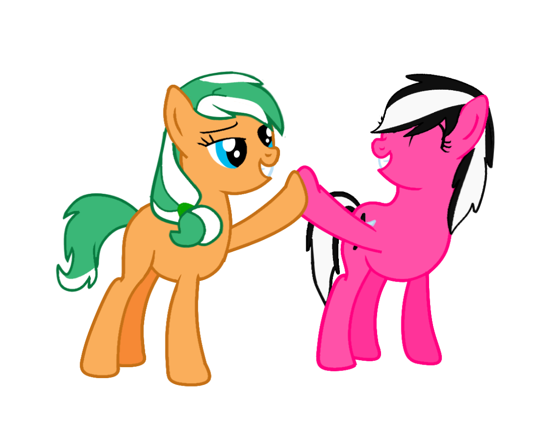Apple Family Sisters-Always Together by EmoshyVinyl