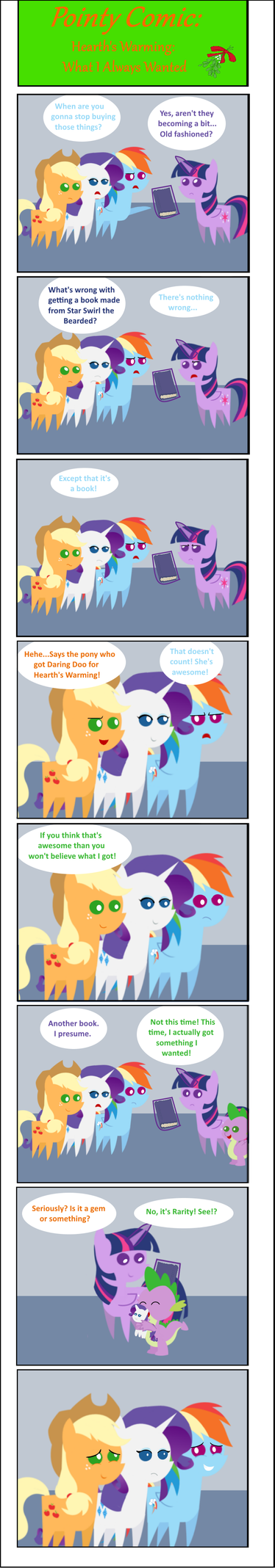 Pointy Comic-What I Always Wanted by EmoshyVinyl