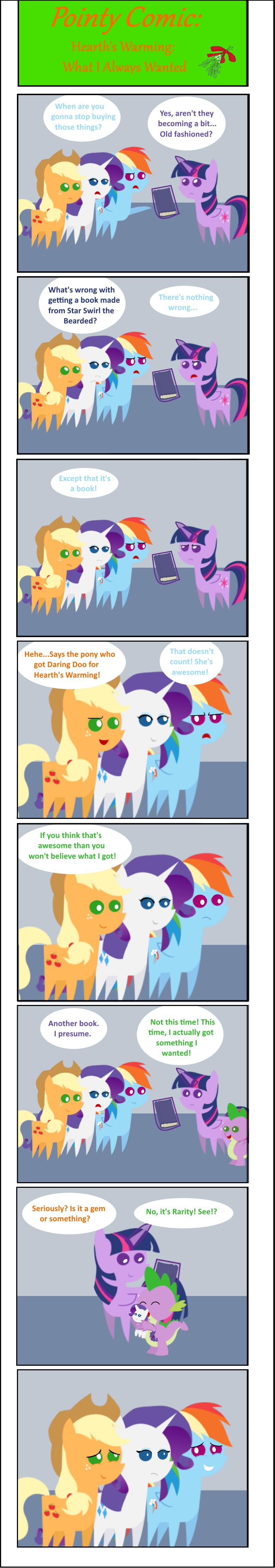 Pointy Comic-What I Always Wanted by EmoshyVinyl