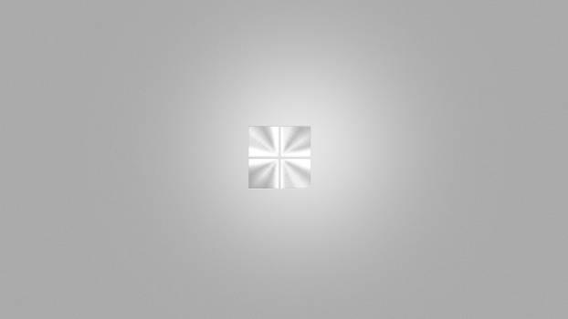 Brushed Aluminium Windows 8 Wallpaper