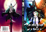 split manga book cover by HannaPhilip