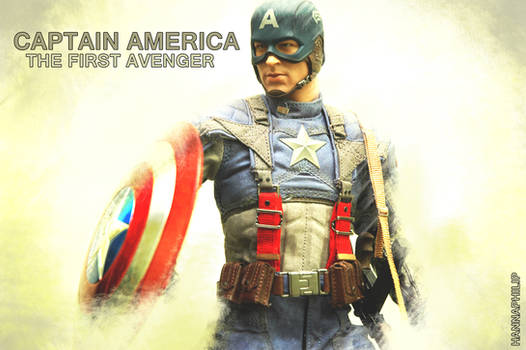 My hottoys collection : captain america_2