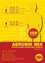 Aerobik Mix plakat