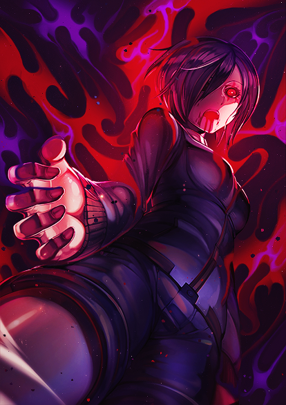 Touka - Tokyo Ghoul by ColourQ