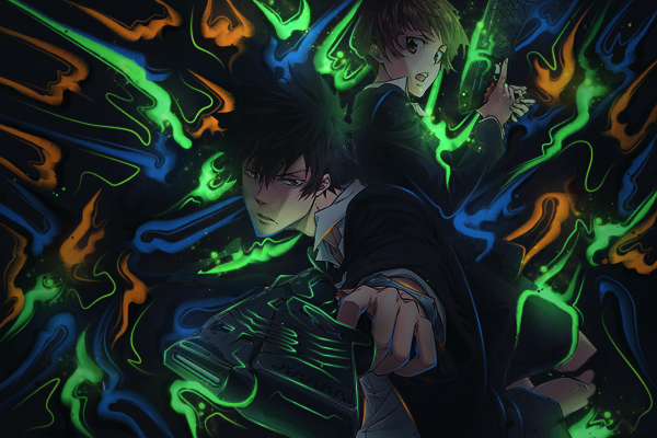 Psycho-Pass by ColourQ