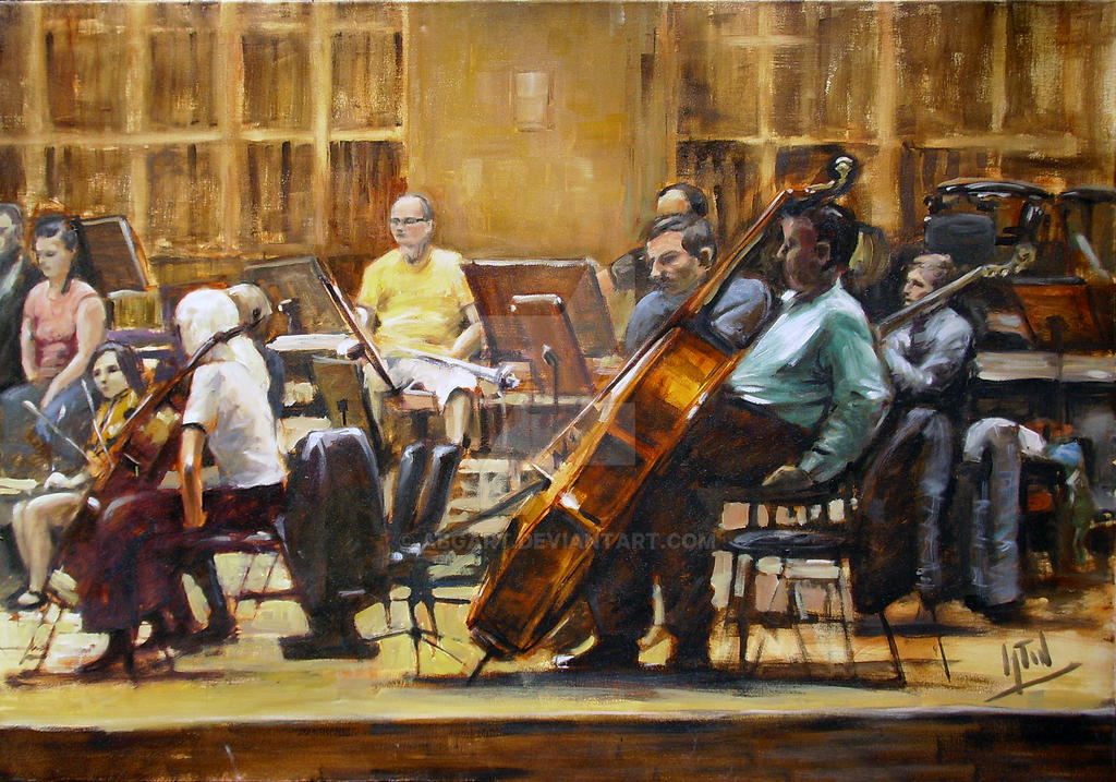 baroque orchestra painting - photo #5