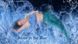 Alone in the blue by Aizlej