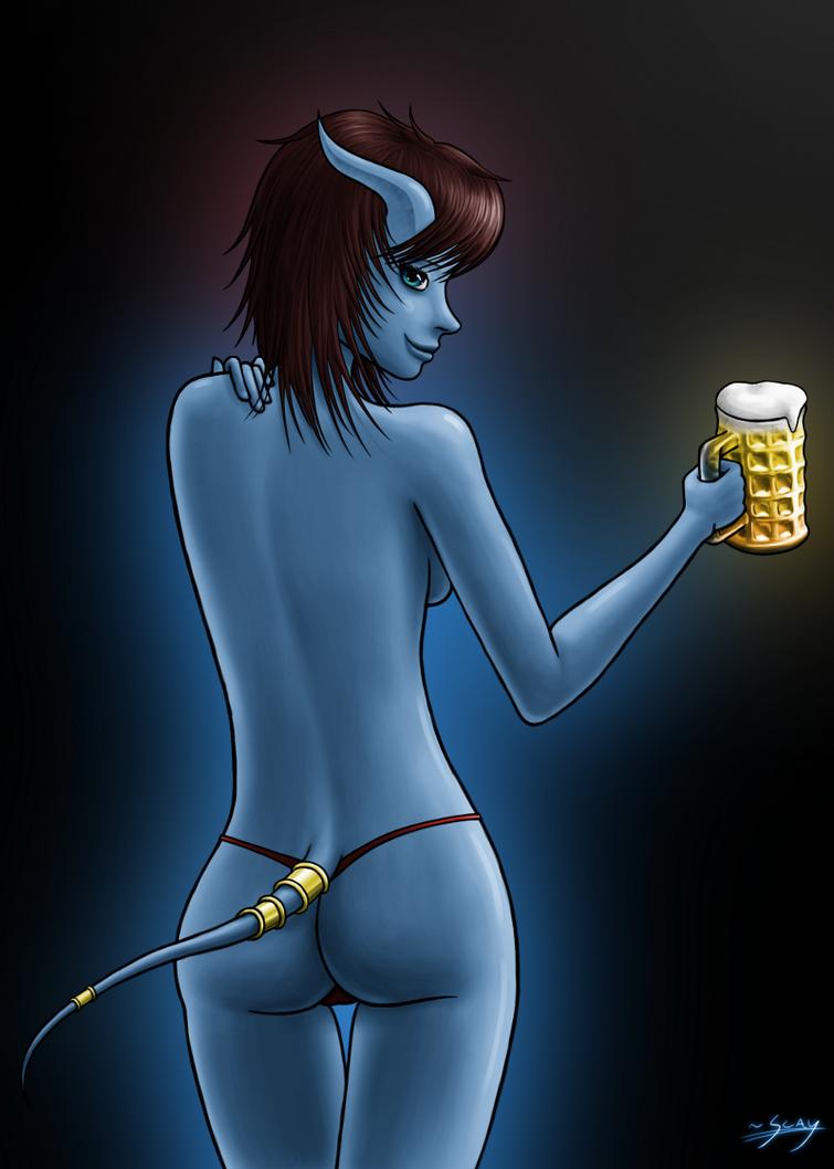 Beer and Bikini by Scayris