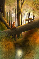 Meet Me in the Woods Tonight by ChizzaPuppy