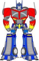 Optimus Prime by Danezilla