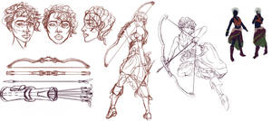 Concept Board - Character