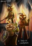 TMNT 13 Days of Horror 2 -Jack'O'Lantern