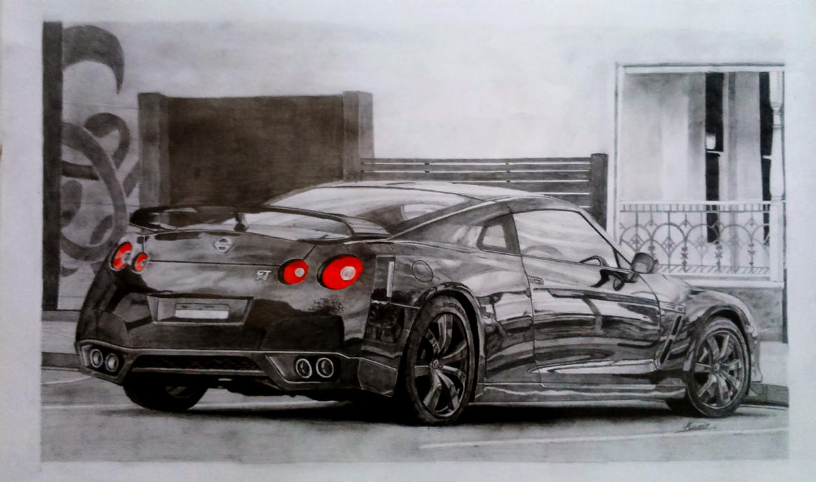 Nissan GTR by TheTrialBeat