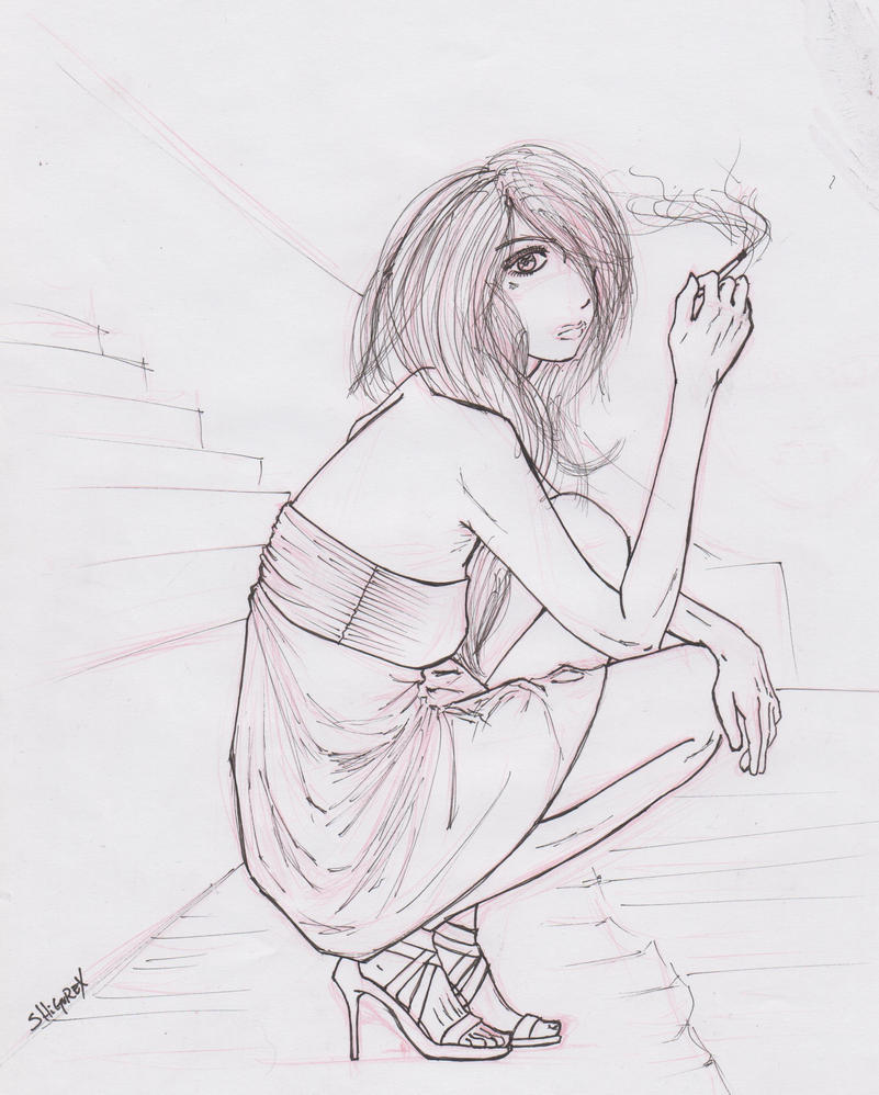 smoke (first attempt) by ShigureXXX