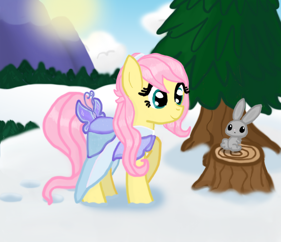 Fluttersnow by Vocapony