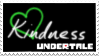 Undertale Soul Stamp - Green (Kindness) by ItsumoCelestialSushi