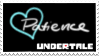 Undertale Soul Stamp - Light Blue (Patience) by ItsumoCelestialSushi