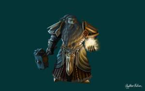 Dwarf Paladin by Kanaru92