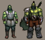 Thrall and Grom