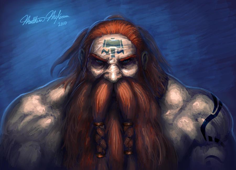 Dwarf Shaman by Kanaru92