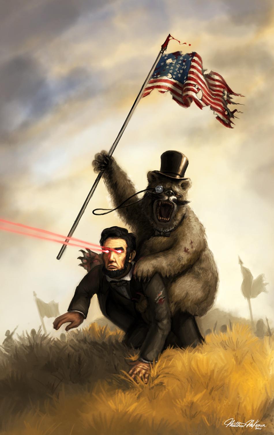 Cartoons... The_civil_war_by_kanaru92-d3f7fin