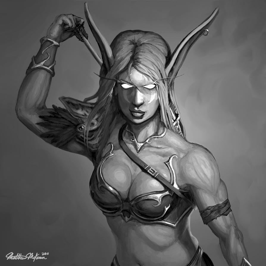 Nightelf boobies 3d erotic women