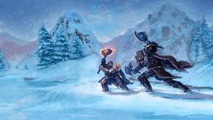 Dwarf vs. Orc