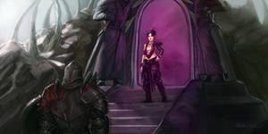 Morrigan and the Eluvian