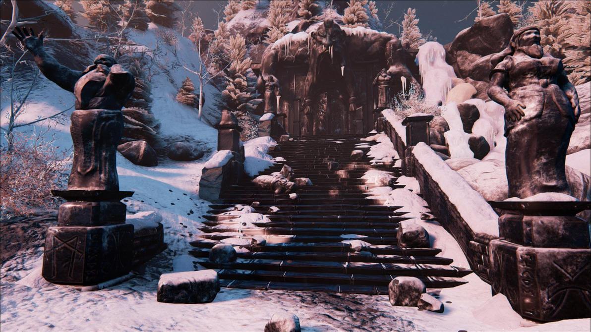 Dwarven Ruins by Kanaru92