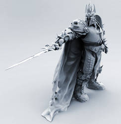 The Lich King - 3D Print Design