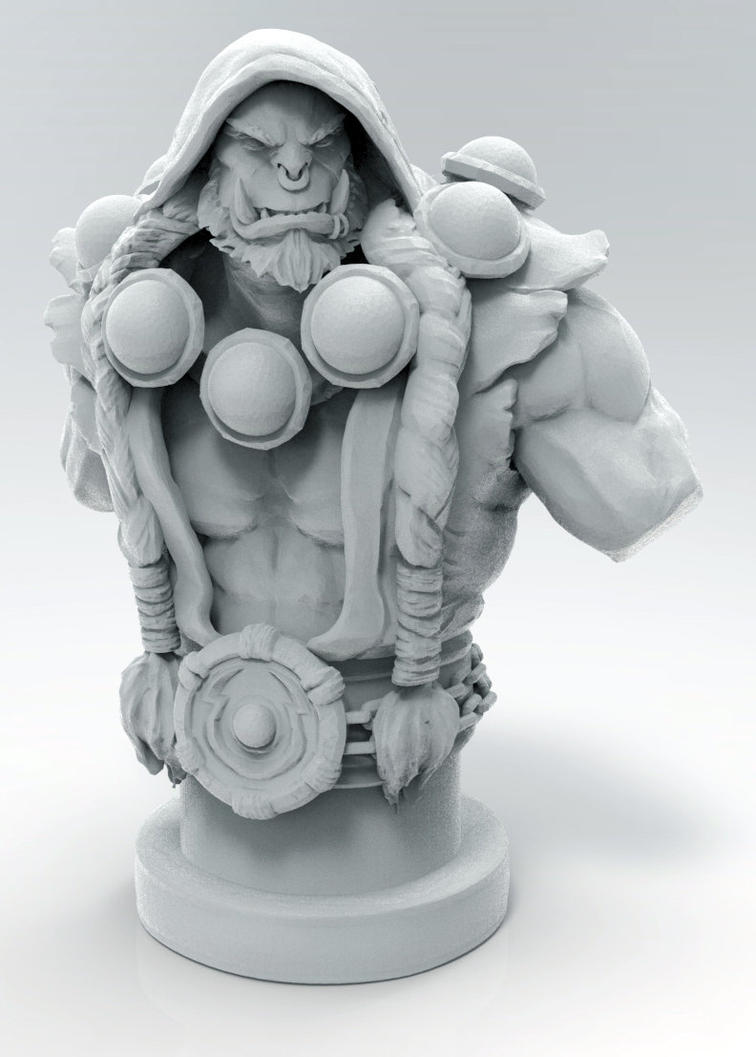 Thrall - 3D Print Design by Kanaru92
