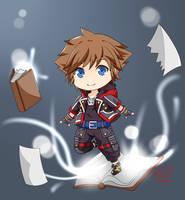 Kingdom Hearts 3 - Sora by akai-kuma