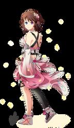 Blossom Princess by akai-kuma