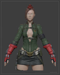 Cammy Highpoly Model by Bogdanbl4