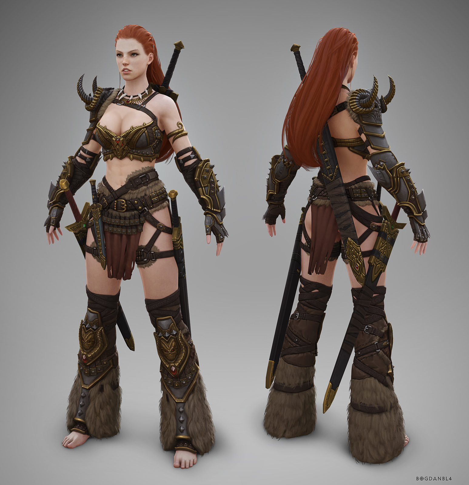 Female barbarian pictures adult photo