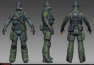 CELL Sniper high-res model